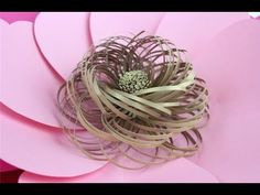 "*** SIZING: If you are making this flower using my dimensions, please choose the 4.5"" height and the 5.0"" height petals! The fringe has two pieces, one 6"" wi..."
