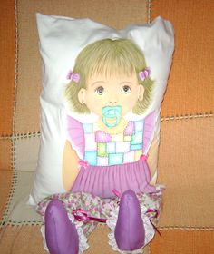 GRACI PINTURAS: Boneca Almofada - Júlia