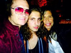 Glenn Hughes ~ Andrew Watt ~ Steven Tyler : Hollywood. We love you...
