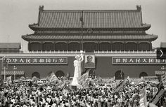 Tiananmen Square, Beijing, May/June 1989