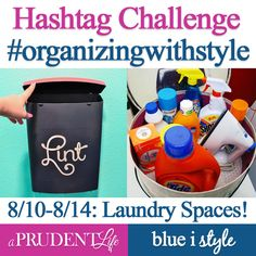 {organizing with style} 12 Ways to Organize with Baskets & Bins | Blue i Style