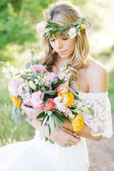 Desert Boho Bridal Inspiration by Julia Stockton   SouthBound Bride