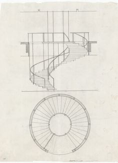 Detail Architecture, Stairs Architecture, Architecture Drawings, Stair Plan, Copenhagen Hotel, Stair Detail, Interior Design Sketches, Poses References, Interior Stairs
