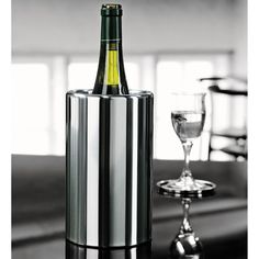 Cooler do butelek Stelton - DECO Salon. Extremely elegant cooler bottles, one of the most prestigious brands of Danish design - Stelton company. #kitchenaccessories #wine #giftidea