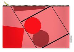 Logos Carry-all Pouch featuring the digital art Geometric Art 358 by Bill Owen