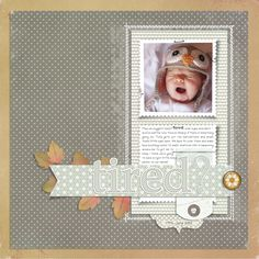 Loving Sharon's baby layouts    (All Designer Digitals)