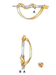 идеи декора одежды вышивкой французским узелком