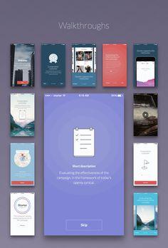 Kama - Mobile UI Kit by isavelev.com on Creative Market