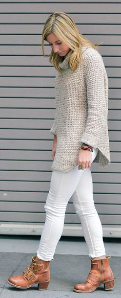Cold Days Of Spring Outfit Idea