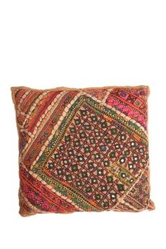 Vintage Indian Pillow