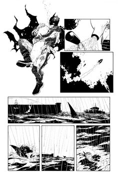 Comic Book Pages, Comic Book Artists, Comic Artist, Comic Books Art, Batman Comic Art, Batman Comics, Batman Robin, Anthony Holden, Comic Frame