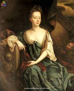 Portrait of anne sherard lady brownlow