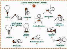 postures pour muladhara chakra   yoga poses muladhara