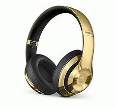 Beats Headphone (Golden Beats by Dre, $700; neimanmarcus.com) #InStyle