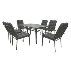 Marquee 7 Piece Dargo Dining Setting