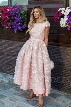 42 Classy Chic Wedding Looks for Spring – Wedding guest – Elegant Prom Dresses With Sleeves, Sexy Dresses, Beautiful Dresses, Evening Dresses, Fashion Dresses, Formal Dresses, Wedding Dresses, Mode Rose, Paris Chic