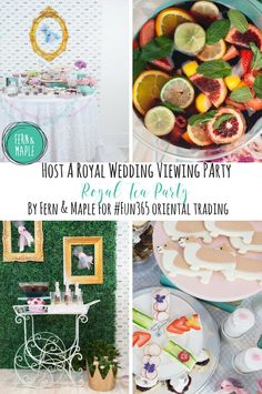 4c1b1e20948 When Harry Marry s Meghan - A Royal Tea Party!  fun365  partyidea   royalwedding