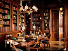 Pierre Berge's Paris Library