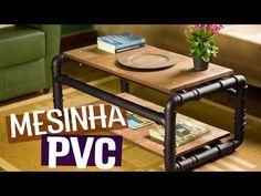 DIY - MESA DE CENTRO DE CANO PVC - YouTube