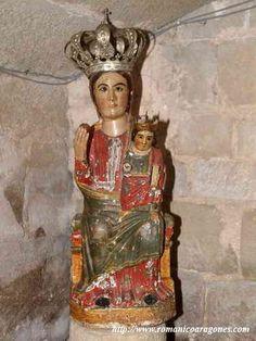01.005.0092.03304.03164.2314 Virgen del Llano Madonna, Hail Mary, Medieval Art, Romanesque, Our Lady, Art Techniques, Virgo, Angels, Statue