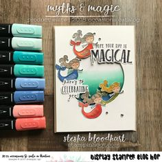 Myths & Magic Suite of Product from the 2018 Occasions Catalog for the Onstage 2017 Display Stamper Blog Hop Card Created by Stesha Bloodhart, Stampin' Hoot! #steshabloodhart #stampinhoot #mythsandmagic #ONSTAGE2017 #displaystamperbloghop