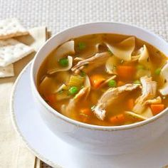 <p>Making a slow-cooker chicken noodle soup with a deep, satisfying flavor requires a few tricks.</p>