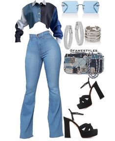 Image may contain: one or more people and shoes Cute Swag Outfits, Classy Outfits, Sexy Outfits, Stylish Outfits, Girl Outfits, Teen Fashion Outfits, Retro Outfits, Look Fashion, Polyvore Outfits