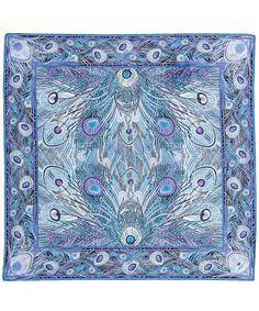 Blue Liberty London Hera Silk Twill Scarf | Scarves | Liberty.co.uk