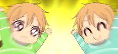 Gakuen babysitter// Kazuma & Takuma (^ω^) Manga Art, Anime Manga, Anime Art, All Anime, Anime Love, Gakuen Babysitters, Anime Child, Anime Profile, Cute Gif
