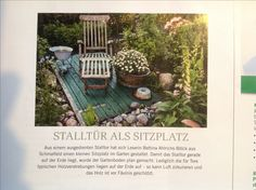Sitzplatz Stalltür