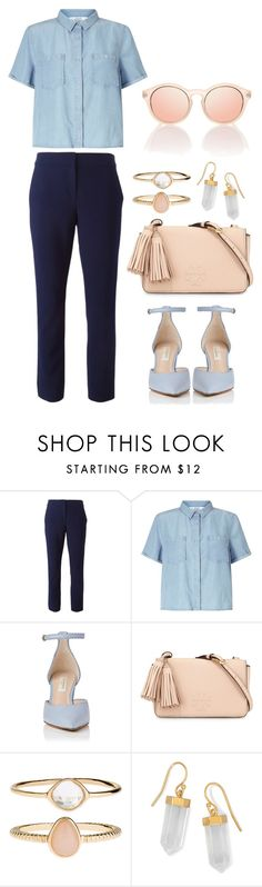 """""""working outfit"""" by indirag on Polyvore featuring Diane Von Furstenberg, Miss Selfridge, Tory Burch, Accessorize and BillyTheTree"""