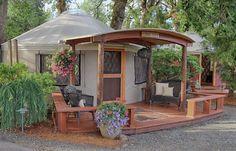 20' Yurts - Pacific Yurts