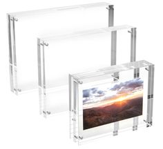 acrylic multi functional product - especially for pictures