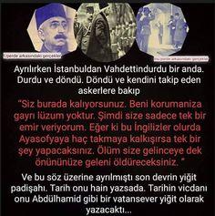 Osmanlı nin yıkılışı tek bir kişiye bağlanamaz. O da değerli bir padisah ti. Osmanisches Reich, Ottoman Empire, Bir Zamanlar, Islam, Figs, Turkish Language, Turkish People, Languages, Quote