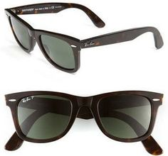 Ray-Ban 'Classic Wayfarer' 50mm Polarized Sunglasses #sunglasses #womens #summer twitter.com/...