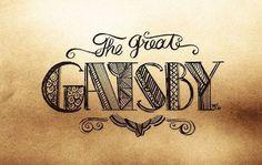 Carnet de typographie #20 - The Great Gatsby - Le Papier fait de ...