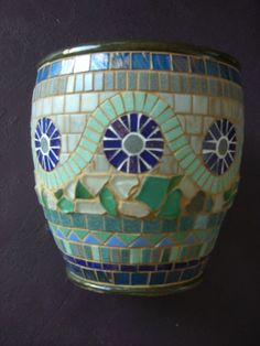 Clay Pot mosaic | Available as of 08/09/09 For $250.00