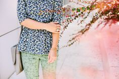 pattern on pattern styled by Jen Pinkston | photos by Mary Costa for Camille Styles