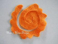 Αποτέλεσμα εικόνας για πως να φτιαξω λουλουδια απο τσοχα