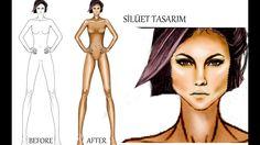 Silüet Tasarımı / fashion figure drawing #fashionillustration #fashiondesign #fashionfiguredrawing