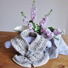 Alpaca cream scarf Alpaca grey scarf alpaca scarves by OnePurlRow