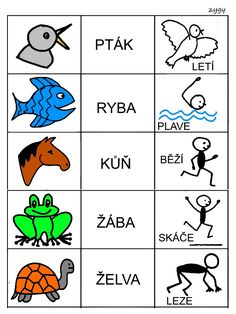 Skladame jednoduche vety Special Education Activities, Special Education Teacher, Activities For Kids, Pictogram, Baby Time, Speech Therapy, Classroom Decor, Projects For Kids, Montessori