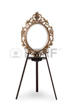 The Old Wooden Easel Stock Photos, Pictures, Royalty Free The Old ...