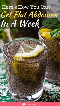 Consume A Mixture Of Chia With Lemon And You Will Get A Flat Abdomen In 1 Week – detox drinks fat burning Detox Drinks, Healthy Drinks, Healthy Snacks, Healthy Eating, Healthy Recipes, Coconut Health Benefits, Benefits Of Chia Seeds, Flax Seed Benefits, Weight Loss Drinks