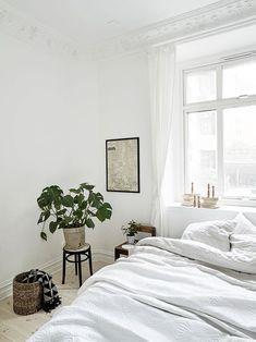 #DECO Apartamento de Estilo Nórdico en color Blanco Total | With Or Without Shoes - Blog Moda Valencia España