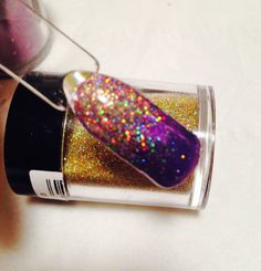 Beautiful Lecente Firework glitter