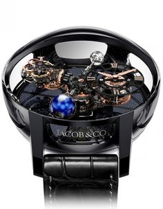The Astronomia Tourbillon - Jacob & Co Mens Gold Jewelry, Mens Silver Rings, Fine Jewelry, Copper Jewelry, Jewellery, Amazing Watches, Cool Watches, Big Watches, Patek Philippe