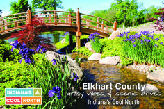 In northern Indiana, Elkhart County stitches together two welcoming worlds. Yes, it's the comfort of the unhurried Amish life, where a million blooms spring to life in the Quilt Gardens along the Heritage Trail. But there's also an energized urban fabric woven from craft breweries, Four Diamond cuisine, eclectic live music, and trendy shops. An urban-rural patchwork that makes Indiana's Cool North so special.