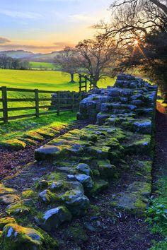 Brunton Turret, Hadrian's Wall, Northumberland, England