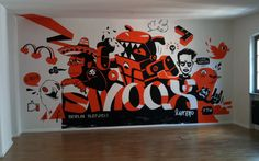 Smoox. Office in berlin painting